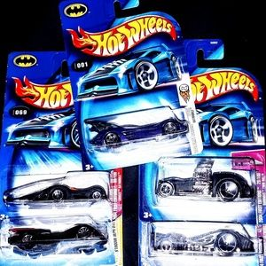 Hot Wheels Lot 6 Batmobiles